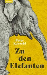 Zu den Elefanten - Novelle
