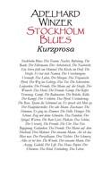 Adelhard Winzer: Stockholm Blues
