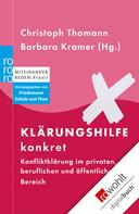 Christoph Thomann: Klärungshilfe konkret ★★★