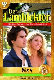 Der Landdoktor Jubiläumsbox 4 – Arztroman - E-Book 18-23