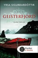 Yrsa Sigurdardóttir: Geisterfjord ★★★★