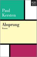 Paul Kersten: Absprung ★★