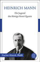 Heinrich Mann: Die Jugend des Königs Henri Quatre