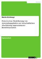 Martin Kirchmayr: Power-to-Gas: Modellierung von Anwendungspfaden zur wirtschaftlichen Abschätzung angenommener Betriebsszenarien