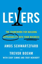 Levers - The Framework for Building Repeatability into Your Business