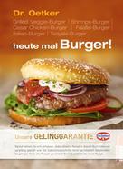 Dr. Oetker: heute mal Burger! ★★