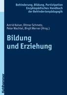 Astrid Kaiser: Bildung und Erziehung