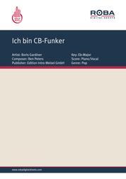 Ich bin CB-Funker - as performed by Gunter Gabriel, Single Songbook