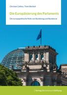Christian Calliess: Die Europäisierung des Parlaments