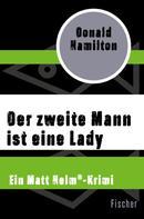 Donald Hamilton: Der zweite Mann ist eine Lady ★★★