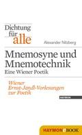 Alexander Nitzberg: Dichtung für alle: Mnemosyne und Mnemotechnik. Eine Wiener Poetik