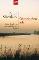 Ralph Giordano: Ostpreussen ade ★★★★★