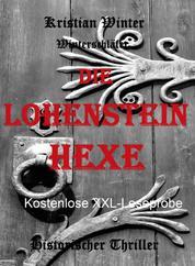 Die Lohensteinhexe - XXL Leseprobe