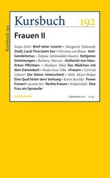 Kursbuch 192 - Frauen II