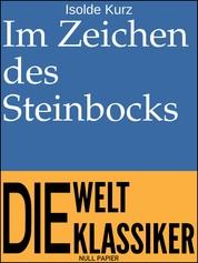 Im Zeichen des Steinbocks - Aphorismen