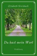 Elisabeth Dreisbach: Du hast mein Wort ★★★★★
