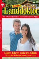 Tessa Hofreiter: Der neue Landdoktor 27 – Arztroman ★★★★★