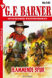 G.F. Barner 141 – Western - Flammende Spur