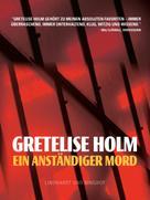 Gretelise Holm: Ein anständiger Mord ★★★★