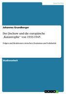 """Johannes Grundberger: Der Jischuw und die europäische """"Katastrophe"""" von 1933-1945"""