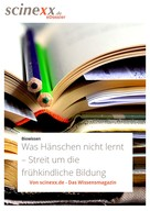 Dieter Lohmann: Was Hänschen nicht lernt...