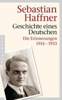 Sebastian Haffner: Geschichte eines Deutschen ★★★★