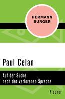 Hermann Burger: Paul Celan