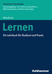 Lernen - Ein Lehrbuch für Studium und Praxis