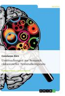 Constanze Zürn: Untersuchungen zur Semantik okkasioneller Nominalkomposita