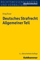 Volker Krey: Deutsches Strafrecht Allgemeiner Teil ★★
