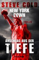 Steve Cold: New York down - Anschlag aus der Tiefe ★★★