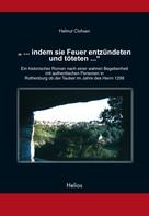 """Helmut Clahsen: """"... indem sie Feuer entzündeten und töteten ..."""" ★★★★"""