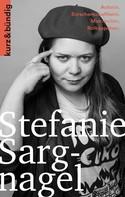Antonia Thiele: Stefanie Sargnagel