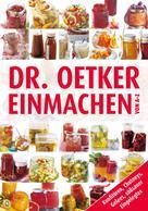 Dr. Oetker: Einmachen von A-Z ★★★★