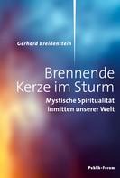 Gerhard Breidenstein: Brennende Kerze im Sturm