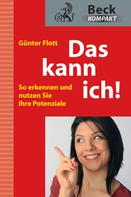 Günter Flott: Das kann ich! ★