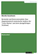 """Mareike Sesselmann: Ikonizität und Konventionalität. Eine diagrammatisch semiotische Analyse der """"Carta Marina"""" und dem dazugehörigen Textband"""