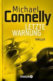 Letzte Warnung - Thriller