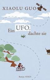 Ein Ufo, dachte sie - Roman