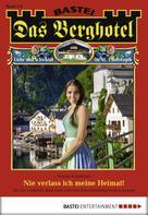 Verena Kufsteiner: Das Berghotel - Folge 113