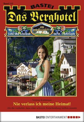 Das Berghotel - Folge 113