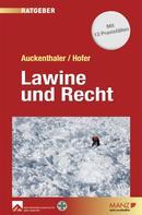 Maria Auckenthaler: Lawine und Recht