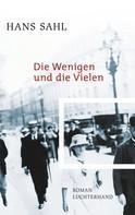 Hans Sahl: Die Wenigen und die Vielen ★★★