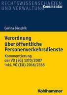 Corina Jürschik: Verordnung über öffentliche Personenverkehrsdienste