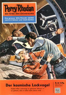 Perry Rhodan 28: Der kosmische Lockvogel