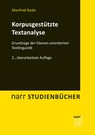 Manfred Stede: Korpusgestützte Textanalyse