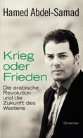 Hamed Abdel-Samad: Krieg oder Frieden ★★★★★