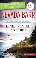 Nevada Barr: Einer zuviel an Bord: Anna Pigeon ermittelt - Band 2: Kriminalroman ★★★★