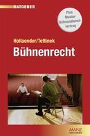 Adrian Eugen Hollaender: Bühnenrecht