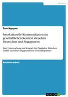 Tam Nguyen: Interkulturelle Kommunikation im geschäftlichen Kontext zwischen Deutschen und Singapurern